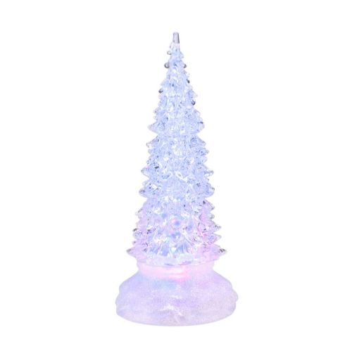 Department 56 Small Frosty Lit Snowstorm Tree